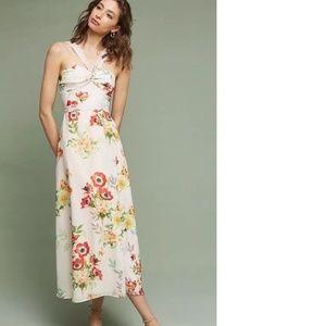 Anthropologie Laysan Floral Dress  new